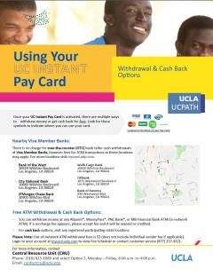 Using Your Instant Pay Card